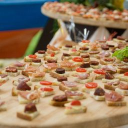 Hors d'Oeuvres Menu